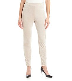 Calvin Klein Faux Suede Pull On Pant