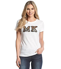 MICHAEL Michael Kors® Sequin Patch Tee