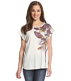 Vince Camuto® Bouquet Watercolor Tee