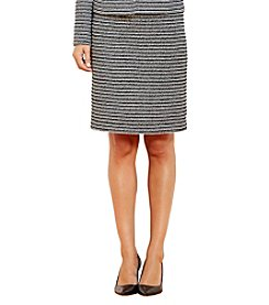 Calvin Klein Boucle Straight Skirt