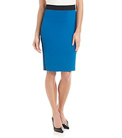DKNYC® Contrast Pencil Skirt