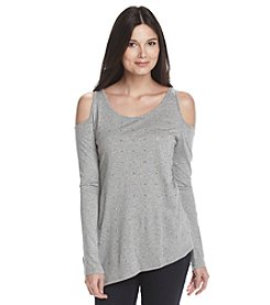 DKNY® Cold Shoulder Top