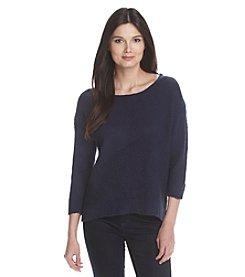 DKNY® Slub Knit Pullover
