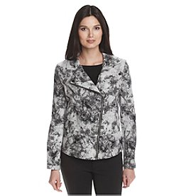 DKNY JEANS® Marble Batik Print Jacket