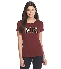 MICHAEL Michael Kors® Sequin Patch Top