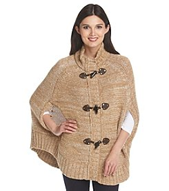 MICHAEL Michael Kors® Toggle Mock Neck Poncho