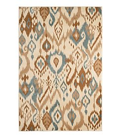 Lavish Home Ikat Haze Accent Rug