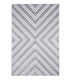 Lavish Home Kaleidoscope Gray Accent Rug