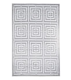 Lavish Home Athens Accent Rug