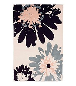 Lavish Home Flower Accent Rug