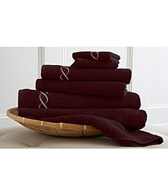 Pacific Coast Textiles® Embroidered 100% Egyptian Cotton 6-pc. Towel Set