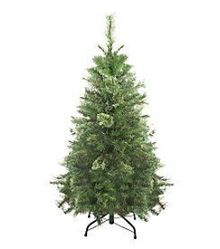 Atlanta Mixed Cashmere Pine 4 Ft. Artificial Unlit Christmas Tree