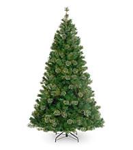 Atlanta Mixed Cashmere Pine Artificial Unlit Christmas Tree