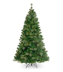 Atlanta Mixed Cashmere Pine Artificial Unlit Christmas Tree
