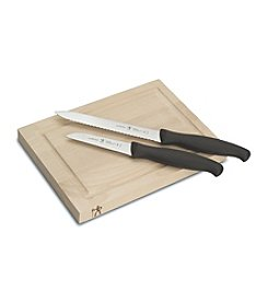 J.A. Henckels International 3-pc. Bar Knife and Board Set