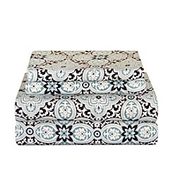 Pointehaven Ankara Flannel Sheet Set