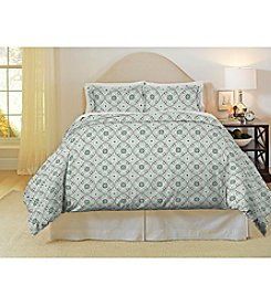 Pointehaven Ankara 3-pc. Flannel Duvet Set
