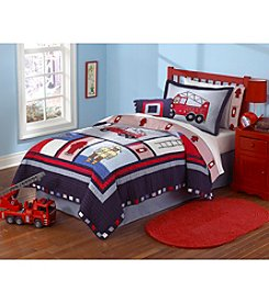 My World® Fireman 3-pc. Quilt Set