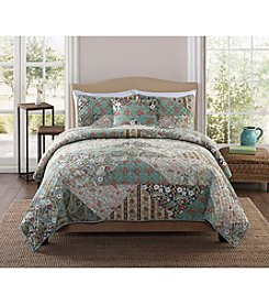 Pem-America, Inc.® Retro Chic Country Triangle Patch 3-pc. Quilt Set