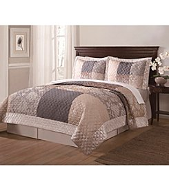American Traditions® Wyndham 3-pc. Quilt Set