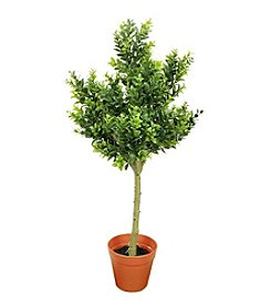 Potted Two-Tone Artificial Sweet Grass Tree
