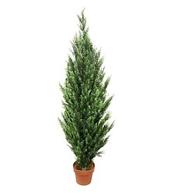 5' Potted Two-Tone Artificial Cypress Tree