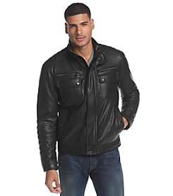 MICHAEL Michael Kors® Men's Stanton Faux Leather Jacket