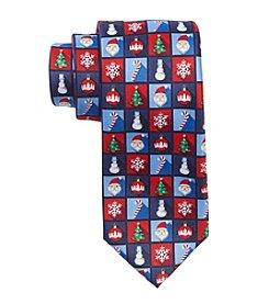 HO HO HO Men's Holiday Icons Tie