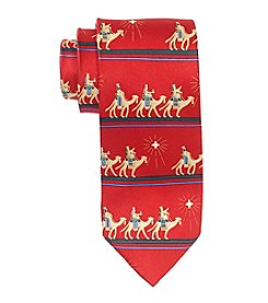 HO HO HO Men's Holiday Three Kings Tie