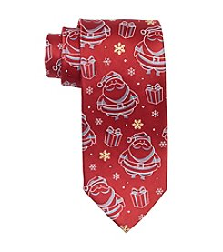 HO HO HO Men's Holiday Santa Clause Tie