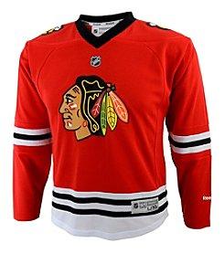 NHL® Chicago Blackhawks Boys' 4-7 Long Sleeve Jersey
