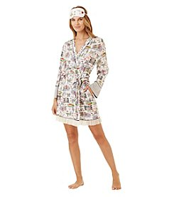 Layla® Printed Robe With Mask