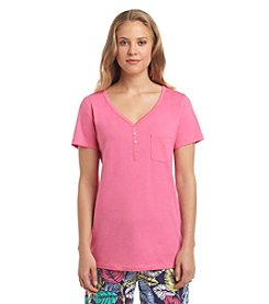 Relativity® Henley Lounge Top