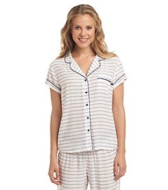 Tommy Hilfiger® Button Front Pajama Top