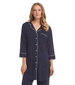 Tommy Hilfiger® Notch Collar Sleepshirt