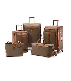 Hartmann® Herringbone Luxe Terracotta Luggage Collection + $50 Gift Card by mail