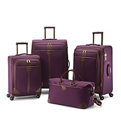 Hartmann® Herringbone Luxe Eggplant Luggage Collection
