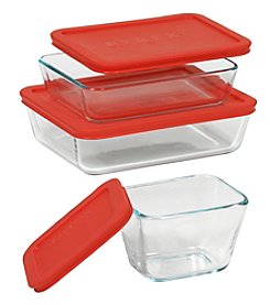 Pyrex® 6-Pc. Rectangle Storage Set