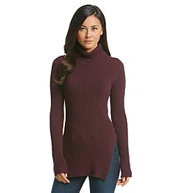BCBGeneration™ Ribbed Tunic Sweater