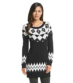 Sequin Hearts® Fair Isle Sweater Tunic