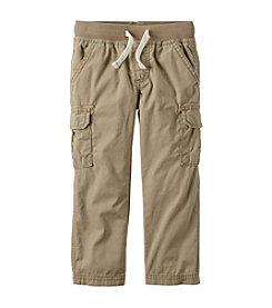 Carter's® Boys' 2T-7 Khaki Cargo Pants