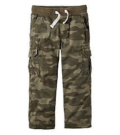 Carter's® Boys' 2T-7 Camo Printed Woven Pants