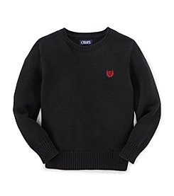 Chaps Boys' 8-20 Long Sleeve Crew Sweater
