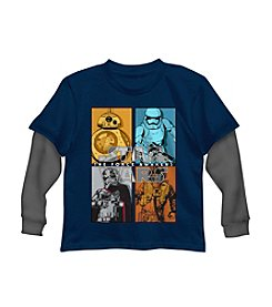 Star Wars® Boys' 2T-7 Star Wars Character Block Tee