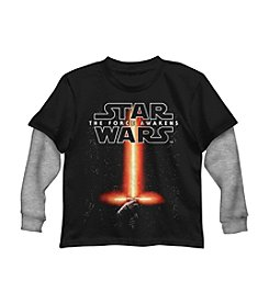 Star Wars® Boys' 2T-7 Star Wars Lightsaber Tee