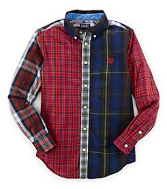 Chaps Boys' 8-20 Long Sleeve Party Woven Top