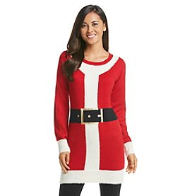 Love Always Santa Outfit Tunic Sweater