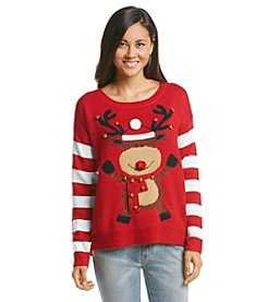 Love Always Dancing Reindeer Sweater
