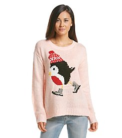 Jolt® Ice Skating Penguin Sweater