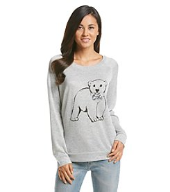w.f. Polar Bear Raglan Top